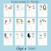 Calendar 2021 by Loesje & Paramoje - Printable -  Birthday Edition