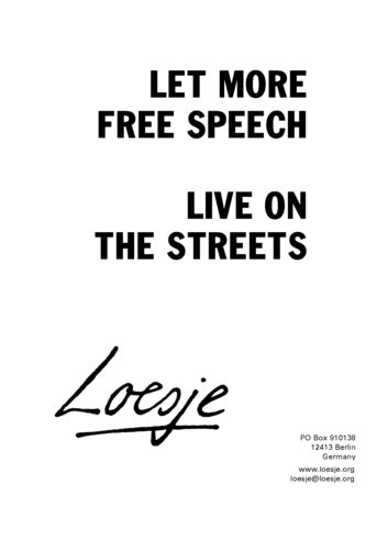 Short essay on Live and Let Live (free to read)
