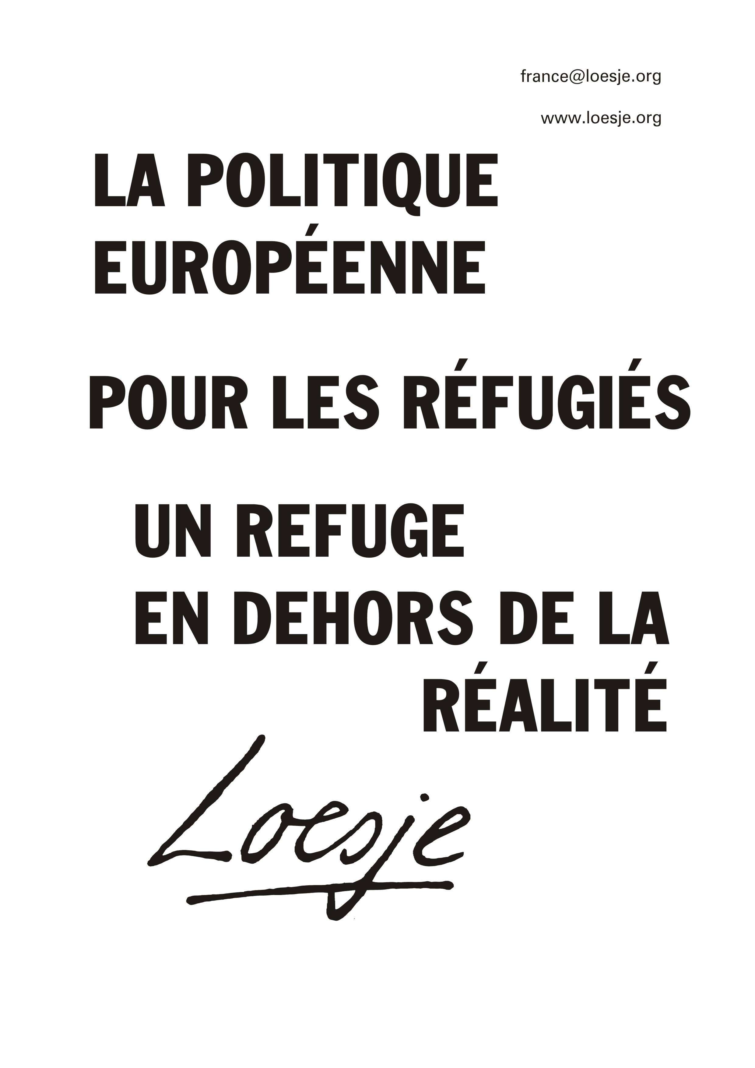 10 La politique européenne pour les réfugiés un refuge en dehors de la réalité