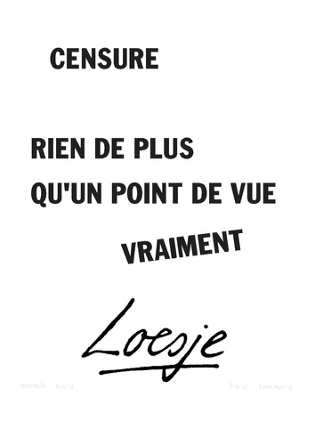 Censure_point de vue